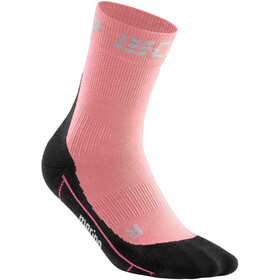 cep Winter Short Socks Women light rose/black